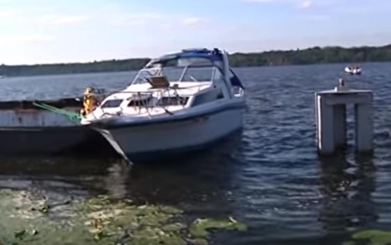 Bardzo dziwny przypadek właściciela łódki na włocławskiej przystani przy Płockiej
